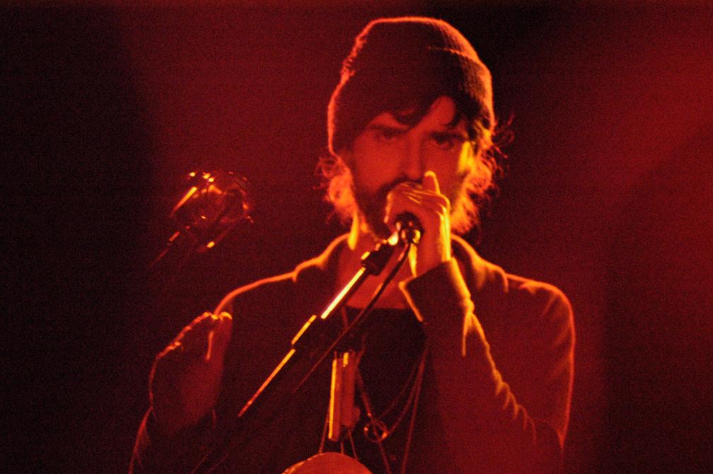 Devendra Banhardt ai magazzini generali a Milano, 18 dicembre 2009